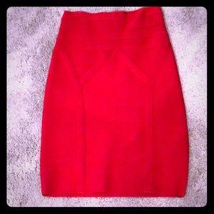 NEW Red Bandage Skirt ❤️
